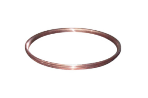 Collector rings in copper for electric motor
