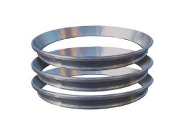 Conical rings in austenitic stainless steel for gas turbines