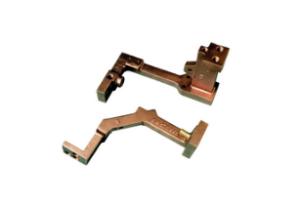 Connectors for welding guns