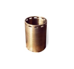 Eccentric bushing for giratory crushers in leaded bronze