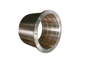 Flanged bushing for pouring ladle