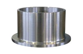 Flanged liner in stainless steel for sealing system