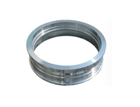 Fully machined rings in stainless steel