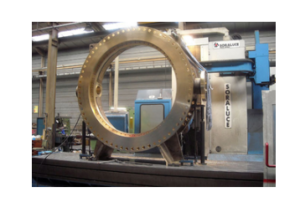 Large butterfly valves for seawater in nickel aluminium bronze