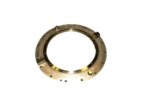 Seal joints for shaft line in bronze