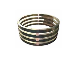 Sealing rings for pumps in aluminium bronze
