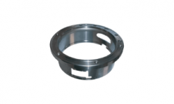 Flanged bushing in stainless steel
